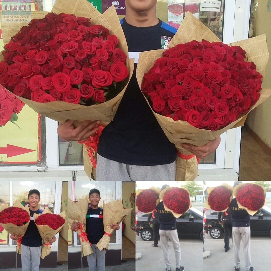 Заказать цветы 101 роза, магазины цветов в москве список