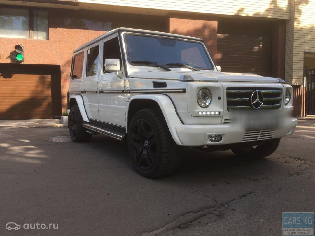 Mercedes Benz G W463 Amg 5 2011 72500